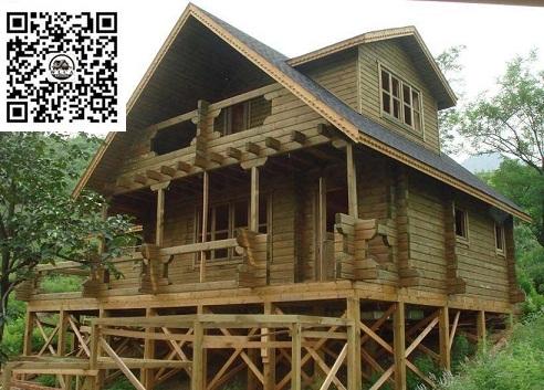 木屋、山区木屋、抗震木屋