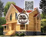 度假木屋、木制别墅
